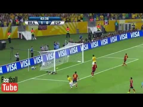 Brazil Vs Spain 3-0 Fifa Confederation Cup 2013 OFFICIAL