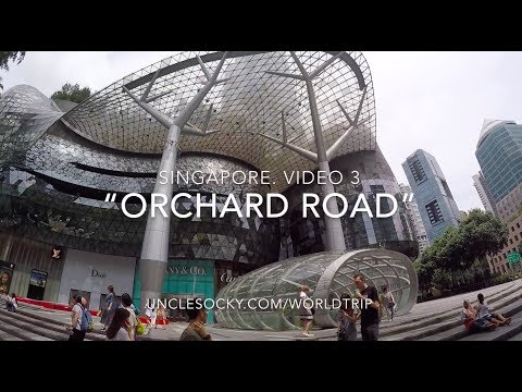 "Singapore. Video 3 ""Orchard road"""