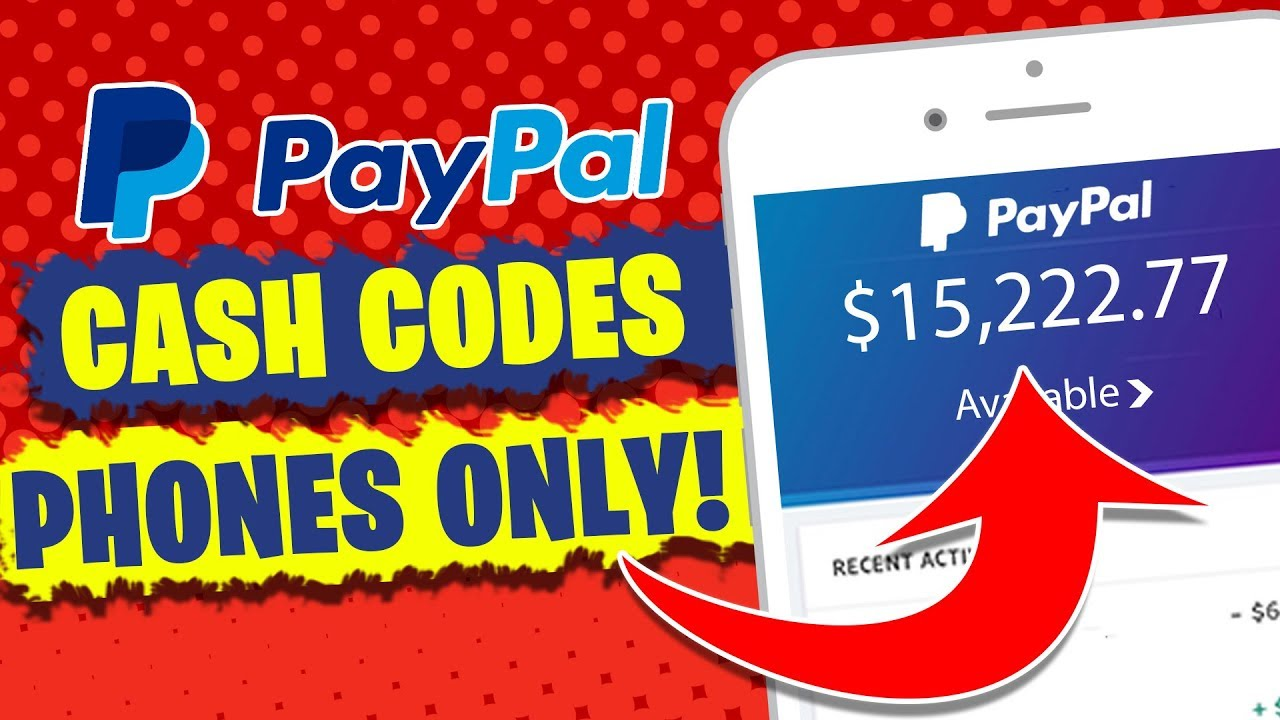 Get Free Paypal Money Cash Codes With Just Your Phone Make Money Online Without Doing Anything Youtube