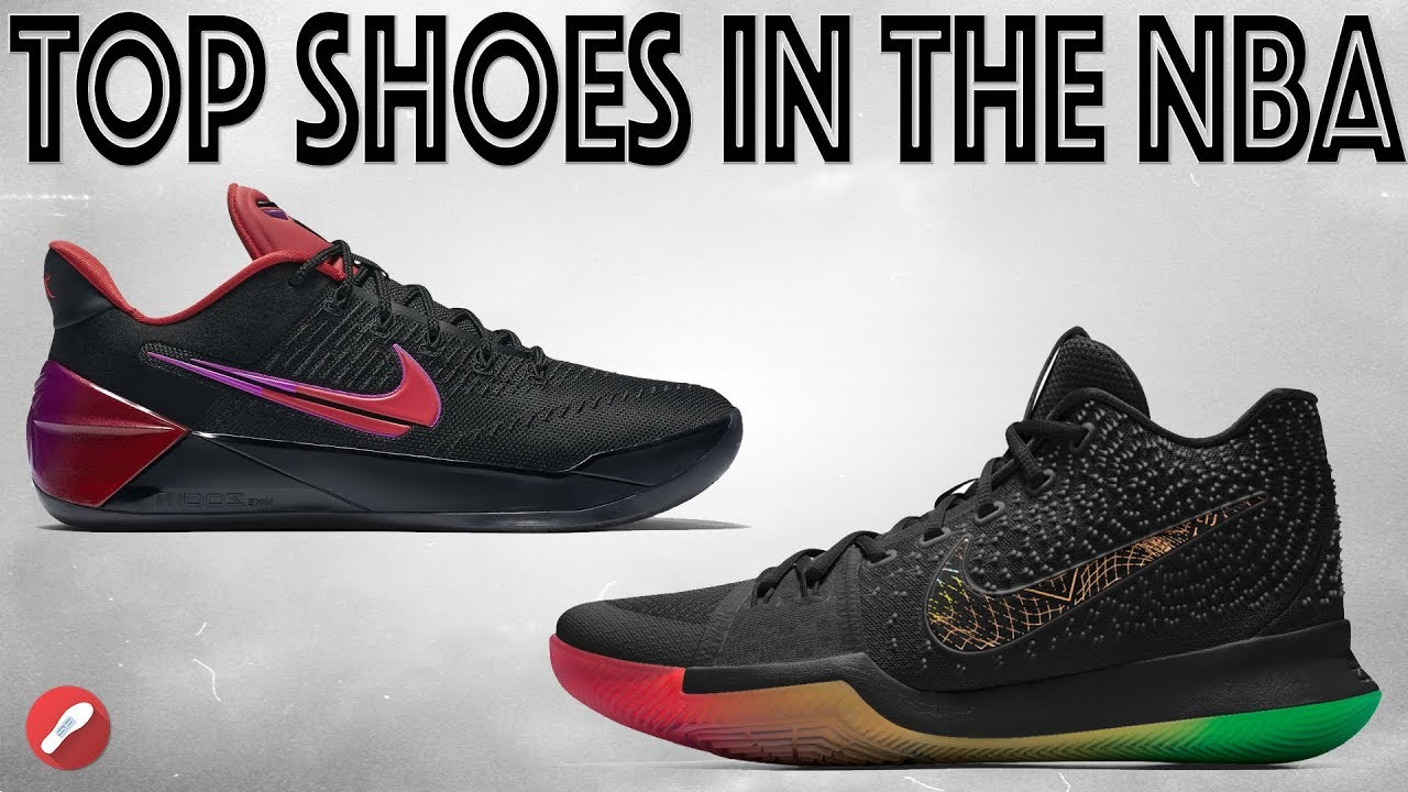 03e6e8f4e08 What Are The Top 5 Basketball Shoes Worn by NBA Players   - YouTube