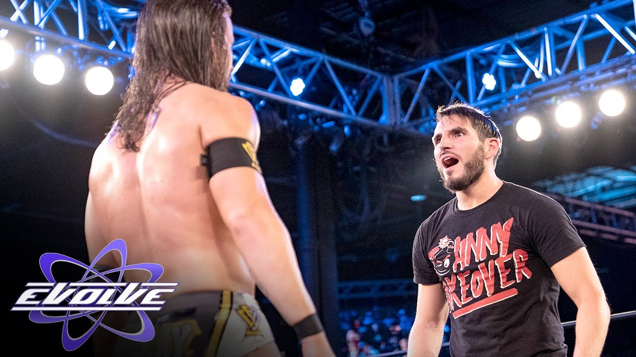Johnny Gargano helps tip the scale in EVOLVE main event (WWE Network Exclusive)
