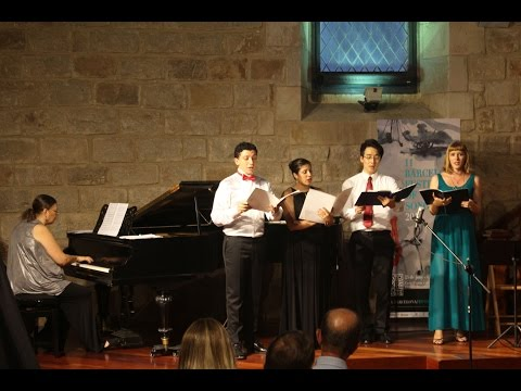 Barcelona festival of Song 2015 -Final student concert