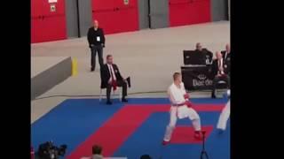 Karate World Championship Madrid 2018, Ryutaro Araga Lost 1st Round