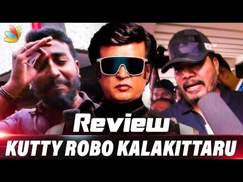 Rajini's 2.0 Public Review   Director Shankar's Enthiran 2 FDFS Reactions   Tamil Movie