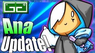 HOTS Ana Update! Heroes of the Storm Ana Balance gameplay! Shrike Self Heal is still too weak!