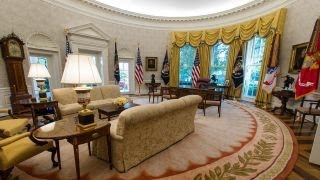 White House unveils renovations: New looks to West Wing