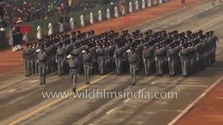 Girls of NSS: Indian military discipline, valour and pride show in its orderly marching