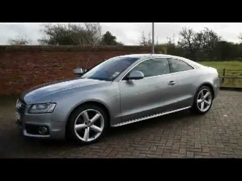 2009 audi a5 s line 2 0tfsi quattro coupe for sale in hampshire youtube. Black Bedroom Furniture Sets. Home Design Ideas