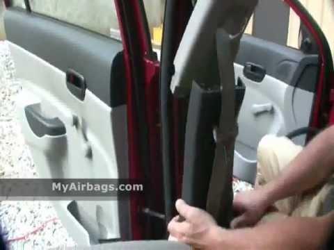 How To: Remove Seat Belt PreTensioner & Repair, MyAirbags  YouTube