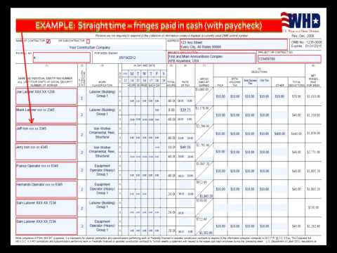 Module 1: Online Certified Payroll Reporting, Contractor and ...