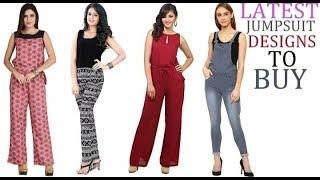 Latest Jumpsuit Designs/Trendy jumpsuits for girls & women