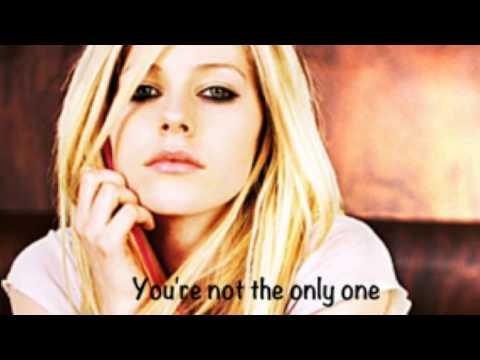 Avril Lavigne- Darlin Lyric Video