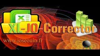 XL-JO-Corrector : Le correcteur des classeurs Excel