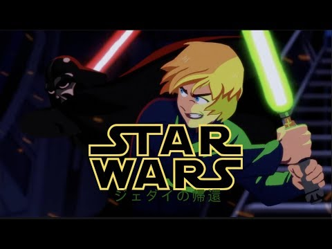 """Star Wars - Anime Opening 3 (Return Of The Jedi Arc) 