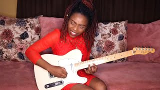 John Mayer - Slow Dancing In a Burning Room - Guitar cover By Helen Ibe