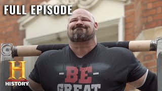The Strongest Man in History: EXTREME ONE TON LIFT COMPETITION - Full Episode (S1, E3) | History