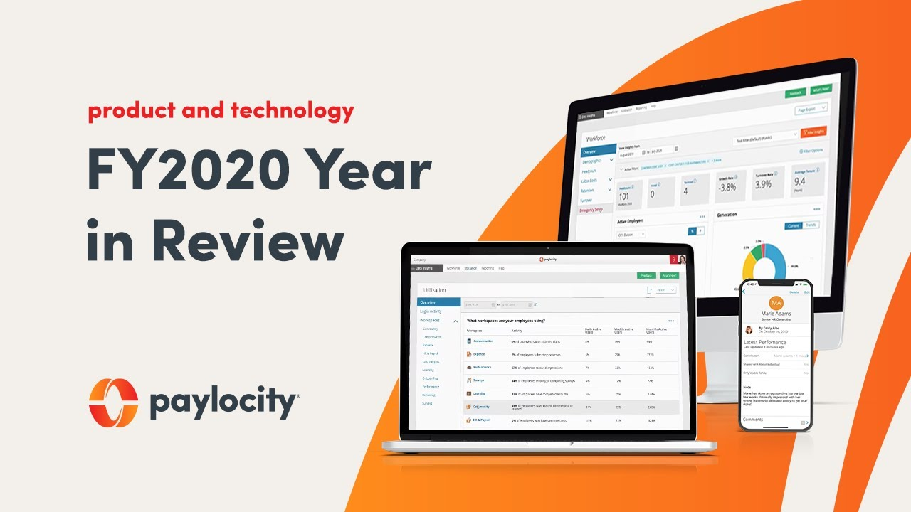 Paylocity FY2020 Year In Review