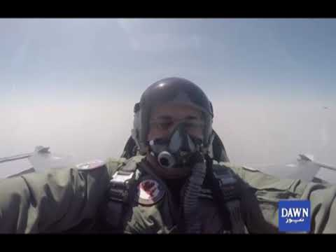 Prime Minister Shahid Khaqan  visit PAF operational Base and take part in flying mission