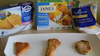 Comparing Frozen Fish products