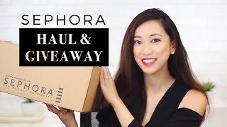 Sephora VIB Sale Haul & Giveaway! 2016, sephora haul