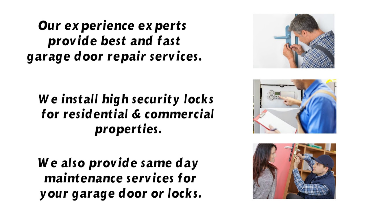 Garage Door Parts Seattle Guard Locksmith Garage Door Repair West Seattle Trustworthy Local Services