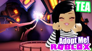 NEW CAVE, SECRET LOCATION? from BETHINK In ADOPT ME! Roblox TEA NEWS LEAKS