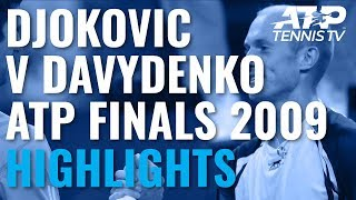 Extended Highlights: Djokovic vs Davydenko | ATP Finals 2009