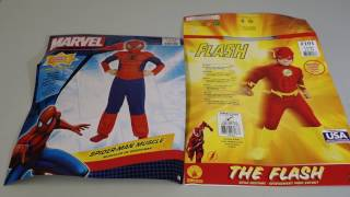 spiderman the flash costume review jimmy jason v kids tv