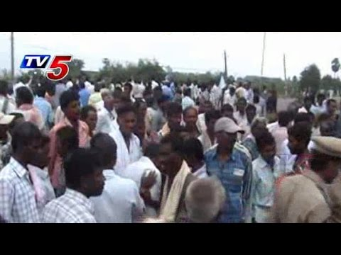 Farmers Attacks on NCS sugar factory at Latchaipeta : TV5 News