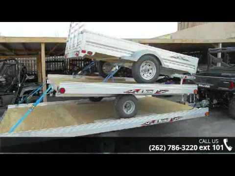 2017 Triton Trailers ATV88-TR ATV - Don  Roy\u0027s Motorspor - YouTube