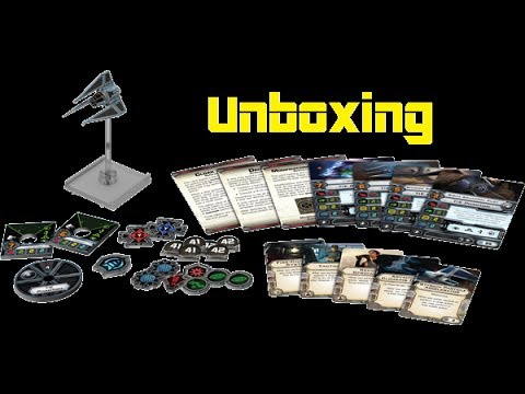 11th Legion Presents: X-Wing Miniatures Game: Tie Phantom Unboxing