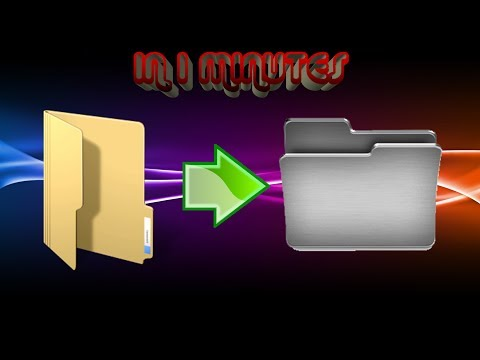 How to Change Folder icon in Windows 7 [HD]