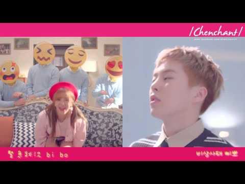 【韓繁中字】 AOA JIMIN(지민) Feat.EXO XIUMIN - CALL YOU BAE 想對你說呀(야 하고 싶어) (Korean/Chinese)
