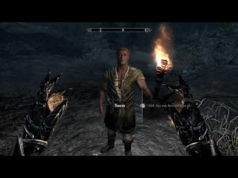 Skyrim#1-Find Helgi After Dark (Walkthrough)