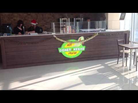 Барная стойка для Кафе «HOT FRESH»