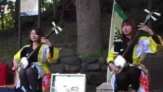 ヘブンアーティスト street LIVE! 上野公園すり鉢山.