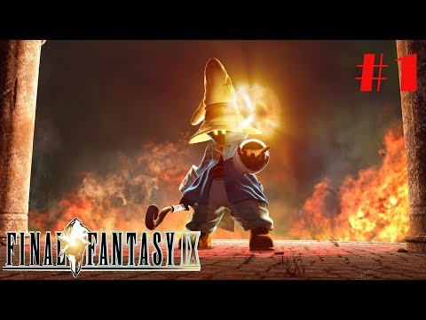 Final Fantasy 9 Walkthrough Live Stream - Part 1 Welcome To Alexandria