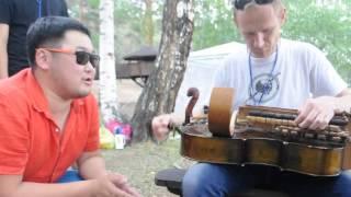 International jamming on Voice Of Nomads festival 2014. Part I