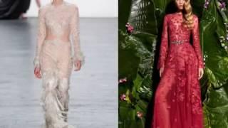 Летние тренды - вечерние платья 2017