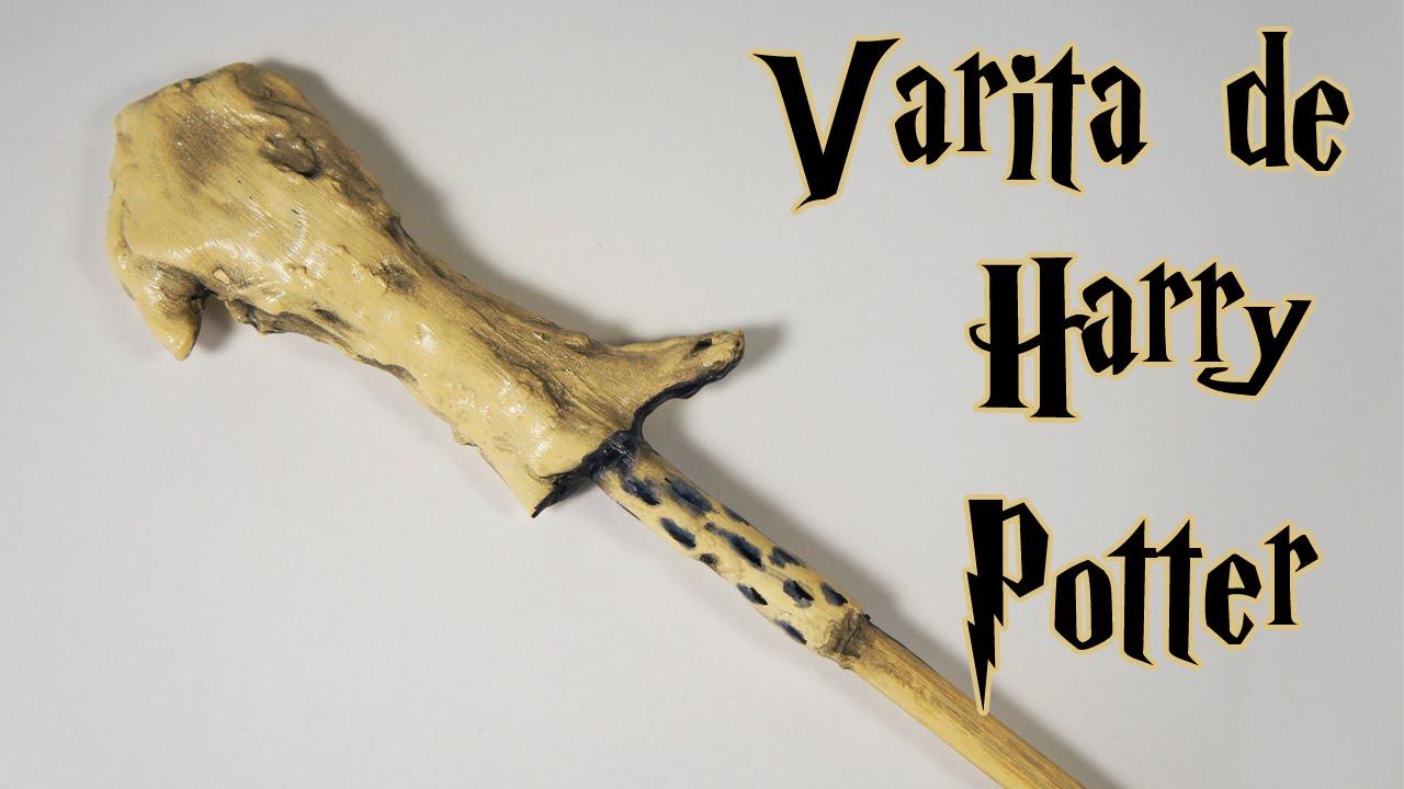 HARRY POTTER DIY: Cómo hacer la varita de Voldemort - YouTube