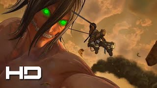 ATTACK ON TITAN (PS4) Mikasa Freeroam Gameplay - Walkthrough Gameplay Cutscene