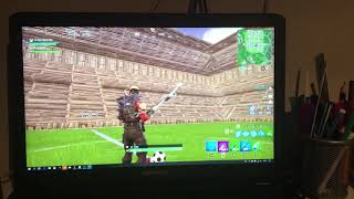Voetbal Stadion gebouwd in Pleasant Park Fortnite Battle Royal