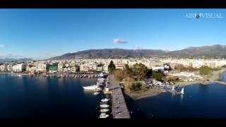 "4K Aerial film ""Port of Kalamata"""