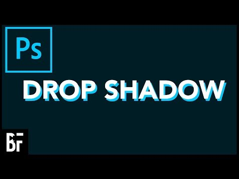 Drop Shadow Text In Photoshop
