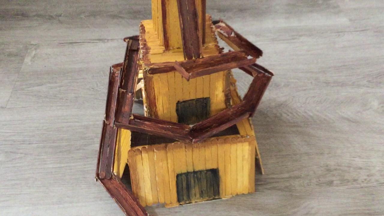STEM Challenge - Mesopotamia Marble Run Ziggurat