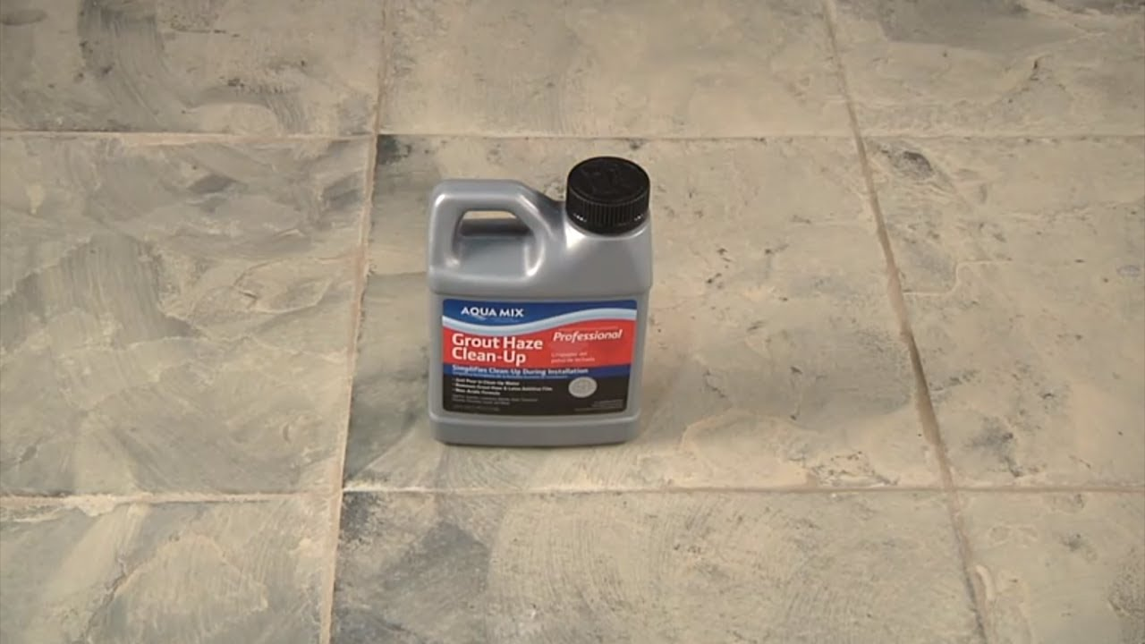 How to remove grout haze using grout haze clean up youtube dailygadgetfo Images