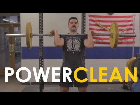 How to Power Clean with Mark Rippetoe | The Art of Manliness