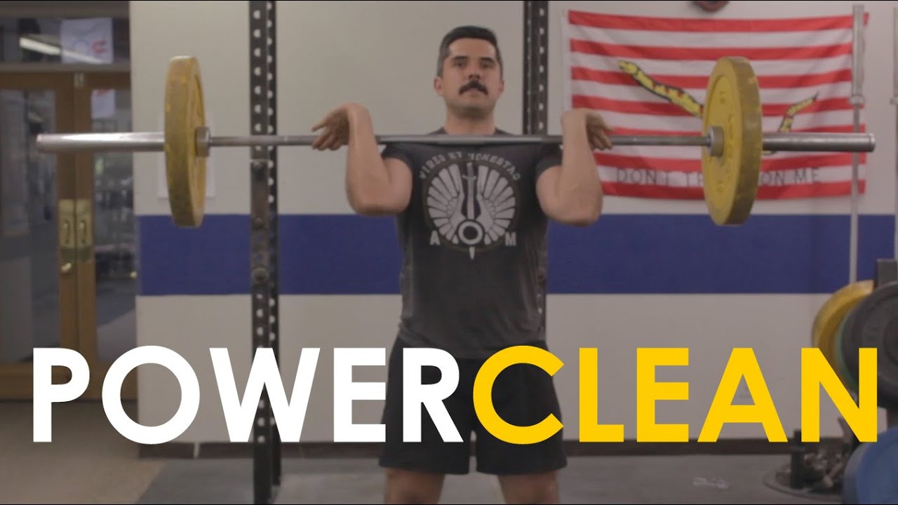 9f67a2ccd3a2 How to Power Clean with Mark Rippetoe