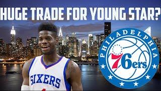 nba 2k16 mygm ep 1   philadelphia 76ers   huge trade for a young star getting draft picks