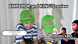 #LoonieJrs. | BREAK IT DOWN: Daddy LOONIE × Ninong ABRA | A Father's Day Special